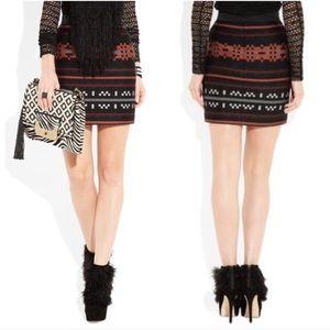 Proenza Schouler Intarsia Mini Skirt